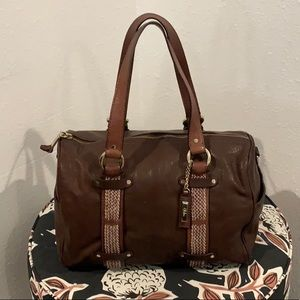 Authentic Cole Haan brown leather purse
